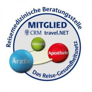 Wir sind Mitglied im CRM travelNET-Reisemedizin